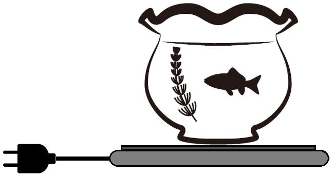 パネルヒーターとは ベタ 熱帯魚 ボトルアクアリウム